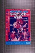 More details for wishbone ash flyer vintage new england tour japan october 1976