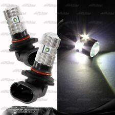 1x Pair 9005 HB3 25 Watt 5 LED White Projector Bulbs For Mazda Nissan Mitsubishi