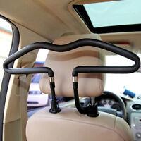 Appui-tête de siège de voiture en acier inoxydable, vêtements, cintre, manBB