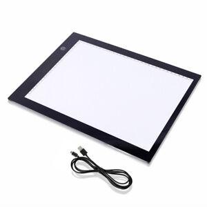 A4  dünne LED Zeichnen Platte, einstellbare Helligkeit 0-100%