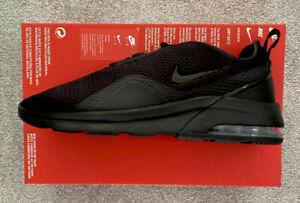 NEW Mens Nike Air Max Motion 2 Trainers Sneakers Casual Gym Ltd Ed BLACK 7-9 UK