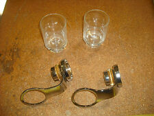 Lot of 2 Tumbler Holder,Polished Chrome Solid Brass Wall Mounted,Bathroom