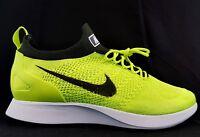 Nike Air Zoom Mariah Flyknit Racer Volt Black White Running Size Mens 12 New