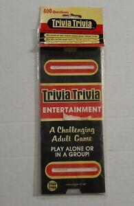 Vintage Trivia Trivia Game General Edition 1984 Kelton Industries 3 Series