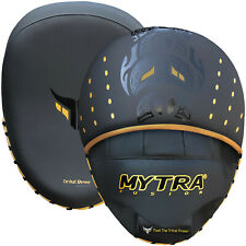 Mytra Focus Pads Punching pad Mitts SL3 Black Tribe