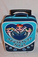 "NEW WITH TAGS  POWERPUFF GIRLS  ROLLING BACKPACK FULL SIZE 12 X 15"" RARE"