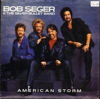 "BOB SEGER american storm/fortunate son CL 396 uk capitol 1986 7"" PS EX/VG+ sos"