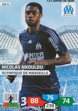 OM-05 NICOLAS N'KOULOU # MARSEILLE CARD ADRENALYN FOOT 2014 PANINI