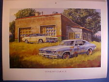 1968 Chevy Malibu, 1970 Chevelle SS barn-find abandoned junkyard Dale Klee art