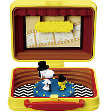 PEANUTS SNOOPY & WOODSTOCK Little Lunchbox Museum Theater Japan  NEW