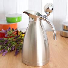 1.5 L Edelstahl 24 Stunden Isolierung Thermoskannen Vakuum Kaffeekanne