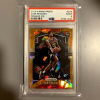 2019-20 Panini Prizm #256 Cam Reddish PSA 9 Orange Ice Prizm ROOKIE RC HAWKS