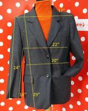 MARINA RINALDI100% wool sz21 us12 eu 50 blazer jacket women