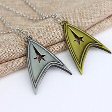 Star Trek Sliver Bronze Stainless Metal Chain Cosplay Decoration Necklace