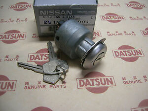 DATSUN 1200 Ignition Switch Early 4 Tabs (Fits Nissan B110 B120 Sunny Truck ute)
