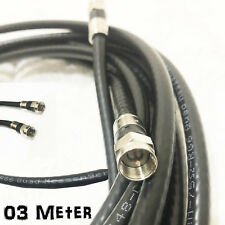 3 M Coax Cable Foxtel Austar Vast Optus Fly Lead F-Type Antenna Aerial Cord TV