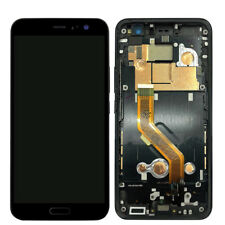 For HTC U11 Black LCD Display Touch Screen Digitizer+Frame
