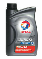Total Quarzo Sintetico Motore Auto Olio INEO ECS Economico 5W30 - 1L Citroen