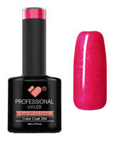 264 VB™ Line Extasy Pink Glitter - UV/LED soak off gel nail polish