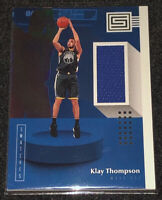 2018-19 Panini Status Klay Thompson Game Worn Jersey Card Patch Relic SP GSW 🔥