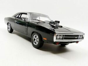 GREENLIGHT 19027 DOM'S DODGE CHARGER 1970 model car FAST & FURIOUS 2001 1:18th