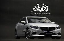 1/18 Mazda 6 Atenza 2014 Sedan White CN Dealer Ed