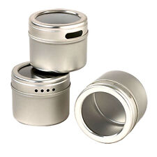 Kamenstein magnetic storage tin organizer.spice crafts office.set of 3+