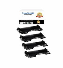 4PK Brother TN450 TN420 High Yield Black Toner Cartridge NEW