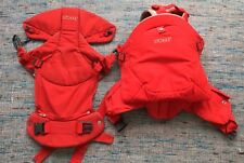 Stokke My Carrier 3 in 1 Red - Front/Back Baby Sling Carrier