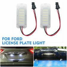 2x LED Licence Number Plate Light For Ford Fiesta Focus C-Max Kuga Mondeo Jaguar