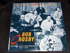 "Vintage Vinyl 1989 Robert Parker's Jazz Classics "" BOB CROSBY 1937-1938"" LP (NM)"