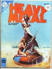 May Heavy Metal Sci-Fi Magazines