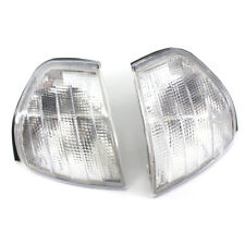 2X Signal Indicator Corner Light Shell Housing Clear for Benz W202 4 Door 94-00