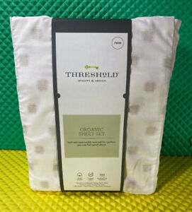 Threshold Quality & Design Sheets Twin Organic New