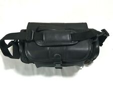 """SONY LCS-VA3 Camera Bag,Camcorder Case Faux Leather 13x8x7"""""""