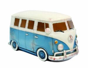 Retro VW Kombi Table Lamp Blue bedside lamps base modern combi camper van light