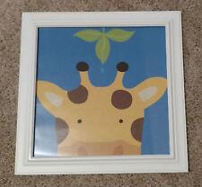 EUC Framed Art.com - Peek-A-Boo Giraffe Picture
