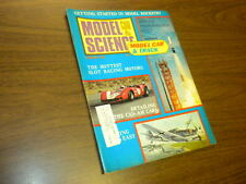 MODEL CAR & SCIENCE magazine FEBRUARY 1968 slot cars Monogram kits matchbox
