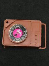 Vintage Mattel Busy Barbie Ken Steffie Brown Record Player & Record