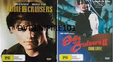 EDDIE AND THE CRUISERS 1&2 II DVD New and Sealed Australia Region 4