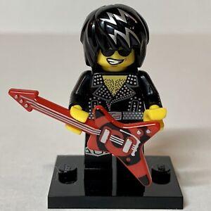 Lego Rock Star Minifigure Series 12 Guitar Punk Rock Metal!