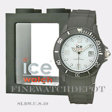 Authentic Unisex Ice Sili Collection White & Black Watch SI.BW.U.S.10