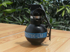 CG04 FUZE M201A2  Dummy Smoke Grenade Shape Lighters Windproof Lighter Toy BLUE