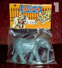 Plastique ZOO set > Grand Éléphant NEUF dans sa boîte 70er Hong Kong/Piñata > heinerle