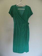 Jacqui E Faux Wrap Dress Size XS