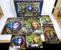 World Of Warcraft Battle Chest - Blizzard Burning Crusade Expansion PC Box Set