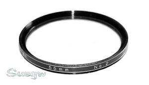 55mm Vivitar Close-Up Lens Filter No. 2