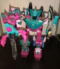 Transformers BBTS Exclusive Decepticons Piranacon Limited Edition Seacons