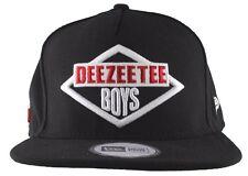 Dissizit! Mens Black New Era DeeZeeTee Boys Hip Hop Snapback Baseball Hat NWT
