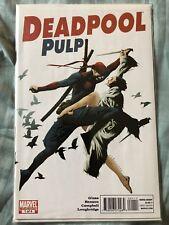 DEADPOOL PULP #1 Marvel Comics 1st Print Marvel Comics 2010